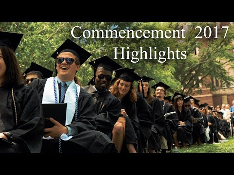 Trinity College Commencement 2017 Highlights