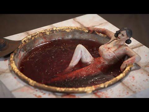 Lady Dimitrescu | Resident Evil | How to make an Wine Bath Diorama