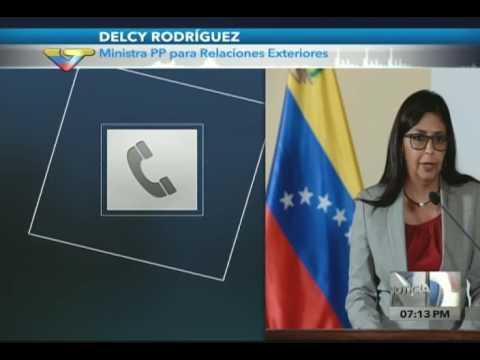 Canciller venezolana: Envían 100.000 cajas de alimentos (CLAP) a Perú por lluvias