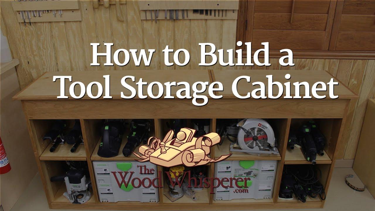 & 217 - Tool Storage Cabinet - YouTube