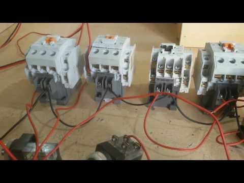how to make auto star delta reverse forward starter - without relay in English