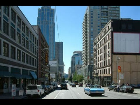 Street Scenes of Seattle, Washington, USA