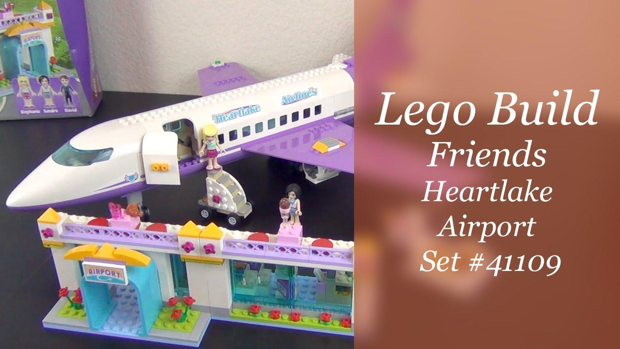 Lets Build Lego Friends Heartlake Airport Set 41109 Part 2