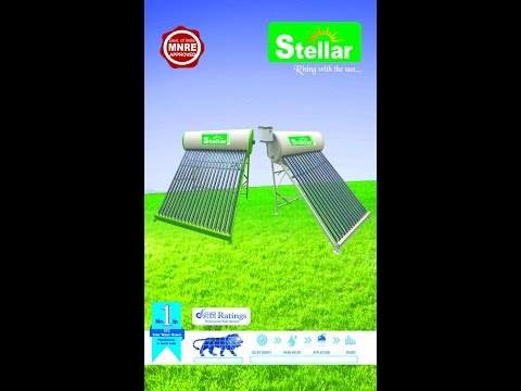 STELLAR SOLAR WATER HEATERS