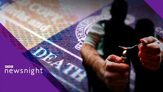 Scotland has highest drug death rate in the EU - BBC Newsnight