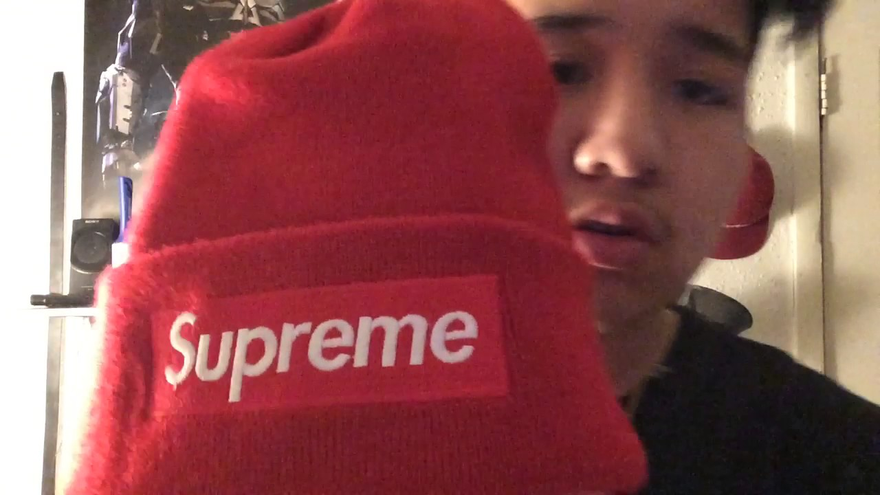 SUPREME BOX LOGO BEANIE 2016 Review Pickup - YouTube 47eb5300e18