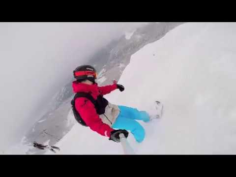 Snowboarding in Montenegro 2017.