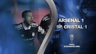 Arsenal vs. Sporting Cristal [1-1]   RESUMEN   Octavos de Final   Vuelta   CONMEBOL Sudamericana