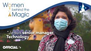 WOMEN BEHIND THE MAGIC ✨ - Yousra Achouri, senior manager Technologie à Disneyland Paris