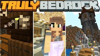 Skelly Tower in Ruins! - Truly Bedrock - S1 E6 - Minecraft SMP [1.11]