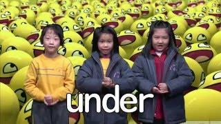 e-wong的黃天校園電視台 - 英文科 (On In Under By)相片