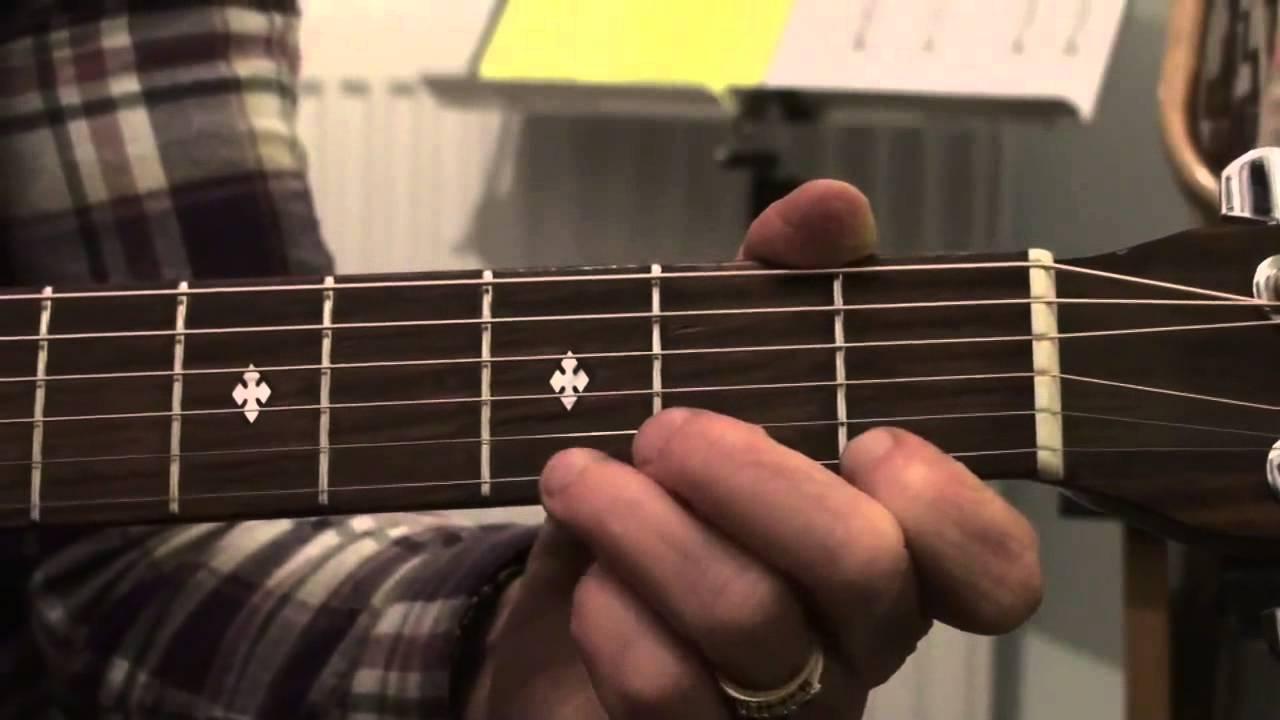 In The Bleak Mid Winter Guitar Practice Aid Key Of C Youtube