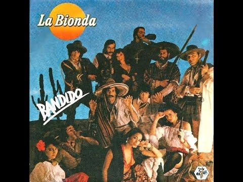 Клип LA BIONDA - Bandido