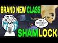 World of Warcraft LEGION: NEW CLASS !!?? Shamlock (Legion Bugs Rule) !!