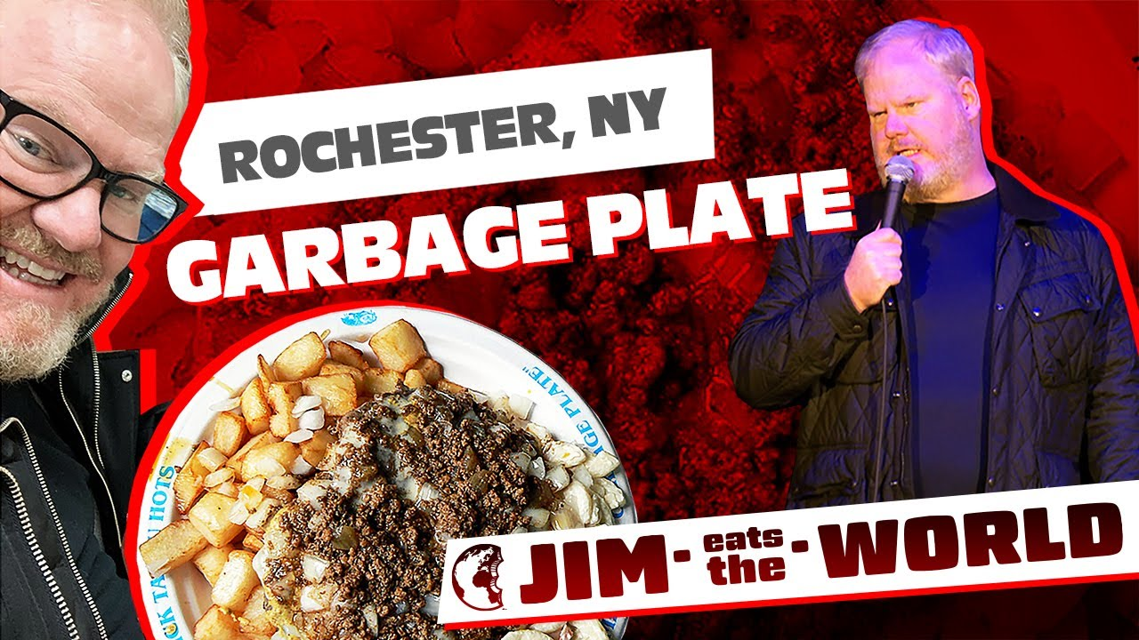 Jim Gaffigan releases Garbage Plate episode of 'Jim Eats World' on YouTube (video)