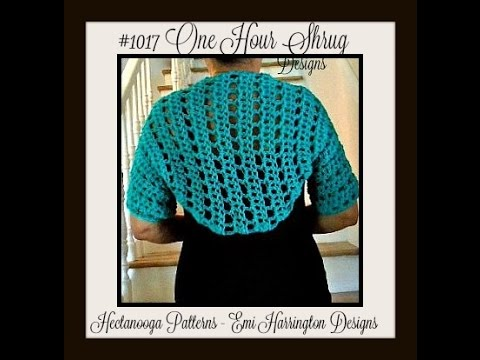 How To Crochet A Shrug Teal Green Shrug Easy Basic Shrug Free