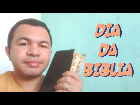 Sobre o Dia da Bíblia 2019 - Amigo Cristão