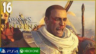 ASSASSINS CREED ORIGINS Gameplay Español Parte 16 PS4 | La Hermandad Walkthrough (1080p)