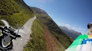 FPV Meeting in the Alps, HD formation flight