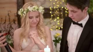 Свадебные пожелания для Васи и Вики свадебное видео со свечами