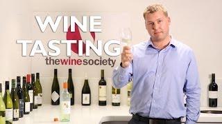 The Wine Society tasting