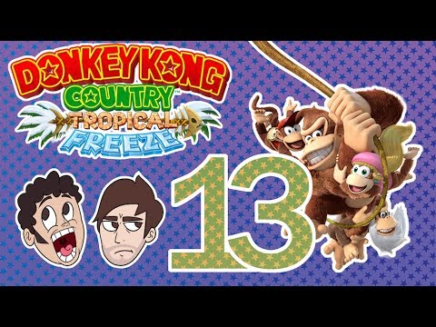 "Donkey Kong Country: Tropical Freeze (Part 13) - ""Sentimental Stories"" [Don't Blow It]"