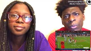 AMERICAN FOOTBALL VS RUGBY LEAGUE | BIGGEST HITS EVER!!! REACTION.CAM