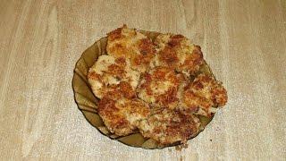 Котлеты из фасоли и картофеля - очень просто и вкусно.