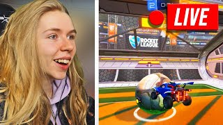 1. LIVESTREAM Rocket League mit Elinski