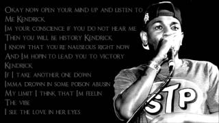 Kendrick Lamar - Swimming Pools (Lyrics)