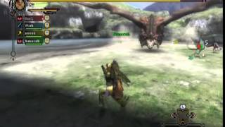 Monster hunter: Tri MP. 13 The red baron of death.