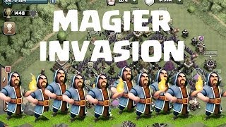 MAGIER INVASION! || CLASH OF CLANS || Let's Play Clash of Clans [Deutsch/German HD]