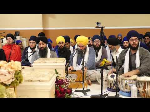 New Jersey Samaagam 2017 - Saturday Night - Bhai Ranjit Singh (Jammu)
