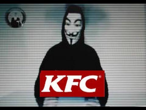 Anonymous  Message To KFC