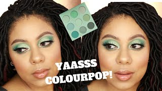 Colourpop Mint To Be Collection- Try on and Review | MiK Hawkinson