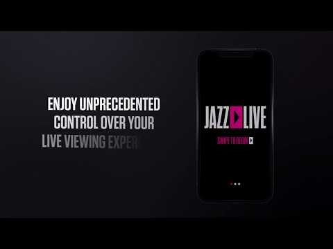 Download The JAZZ LIVE App And Control Your Concert Viewing Experience!