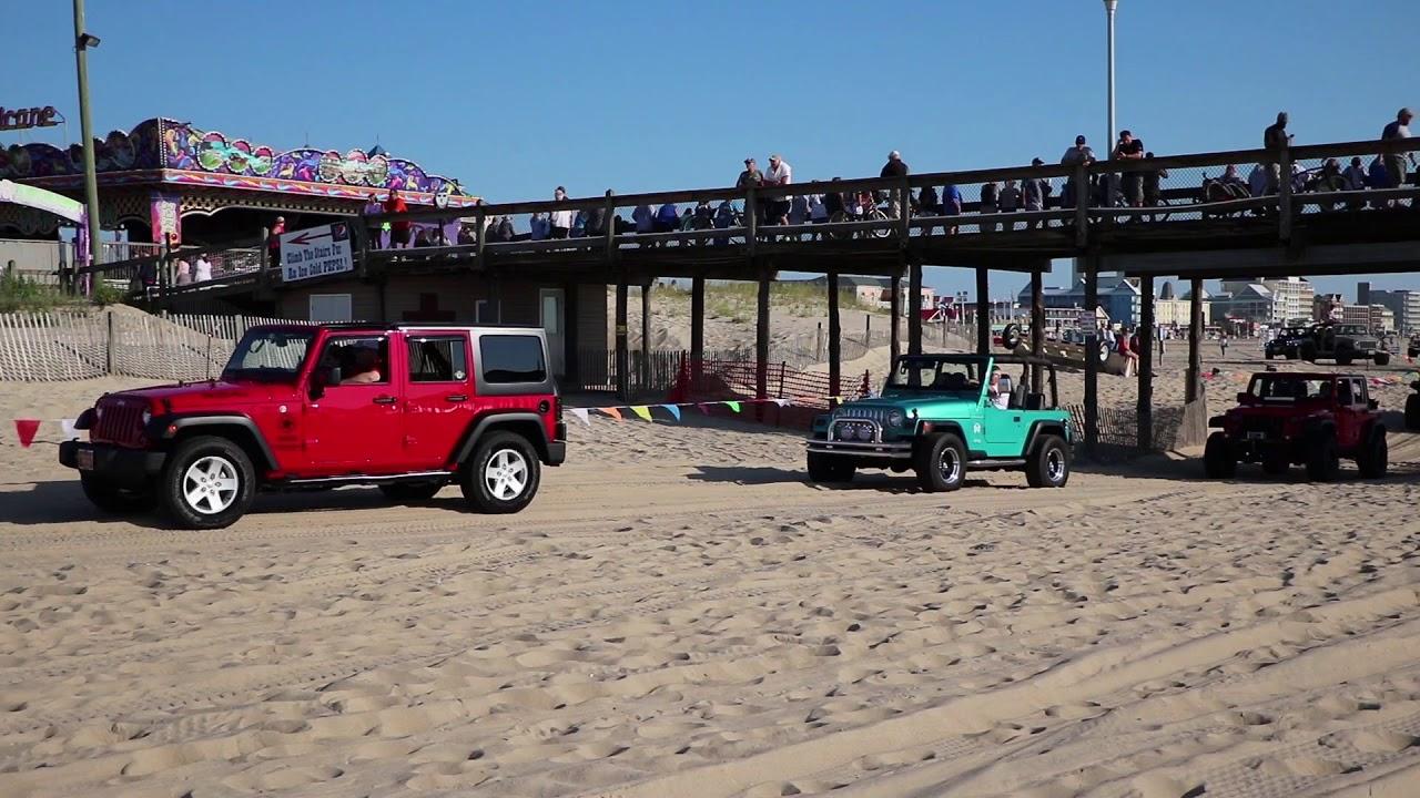 Ocean City Jeep Week >> Ocean City Jeep Week 2018 Beach Crawl Friday 8 24 18