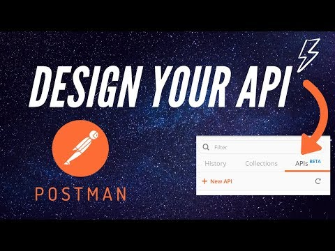 First look at the new design API feature in Postman