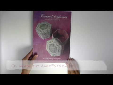 Livre Pergamano Freehand Embossing in Parchment Craft de Amanda Yeh