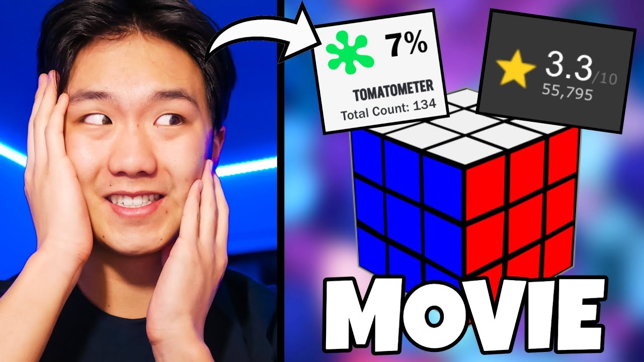 REACTING TO THE NEW RUBIK'S CUBE MOVIE?!
