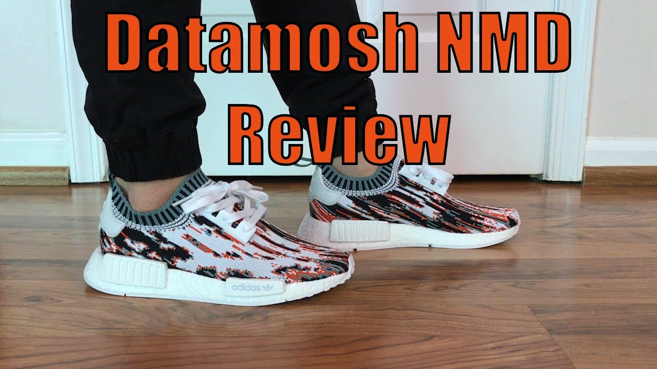 ddff9b27b9000 Adidas x SNS Datamosh NMD Review + On Feet - YouTube