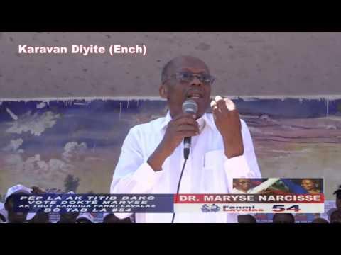 Karavan Diyite Ench Discoure Jean-Bertrand Aristide