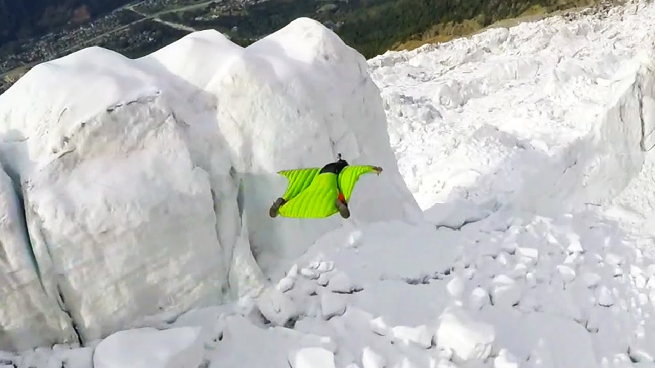 Flying Through The Glacier Aiguille Du Midi Sessions