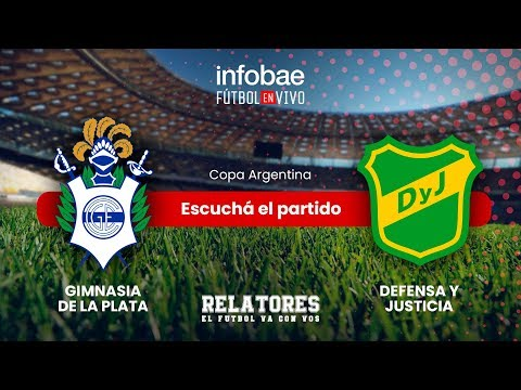 Escuchá en vivo  Gimnasia vs Defensa