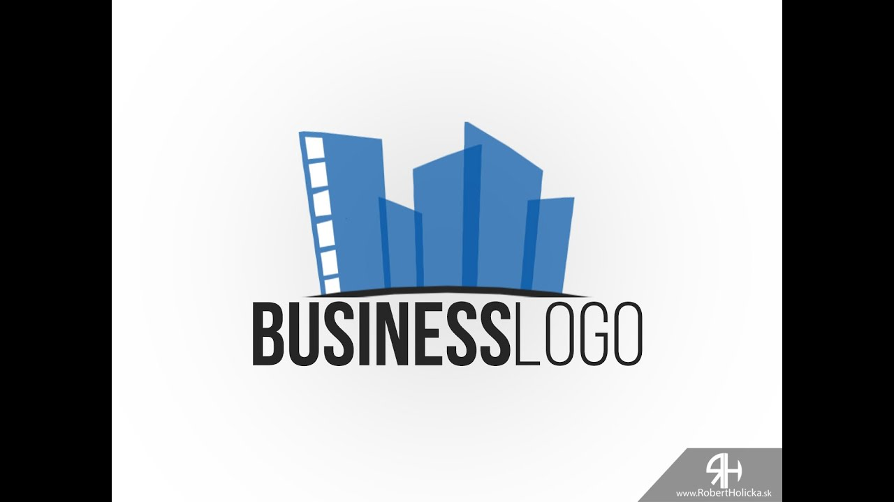 5 MINUTES: Create simple business logo in Photoshop tutorial - YouTube