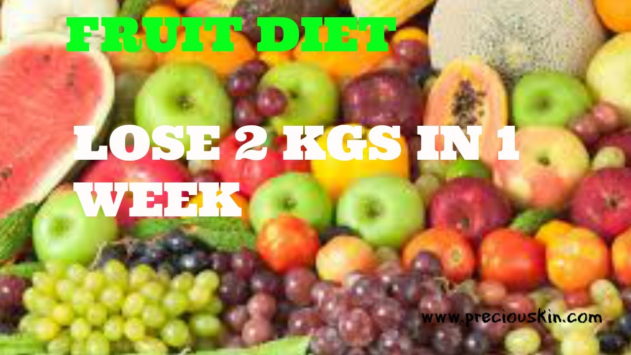 how to lose 3 kgs in a week indian diet