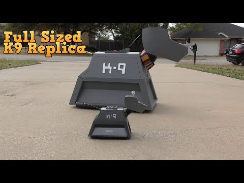 Download Youtube: Full Sized K9 Replica - Robotic Dog from Doctor Who