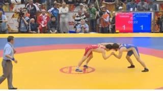 57 кг. Финал . Исмаил Мусукаев (Дагестан) - Виктор Лебедев (Якутия)