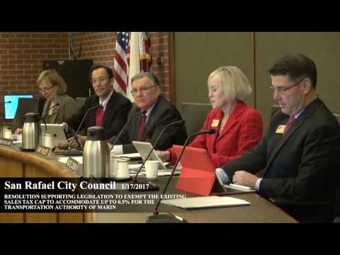 San Rafael City Council 1-17-17 TAM Cap Exemption Vote