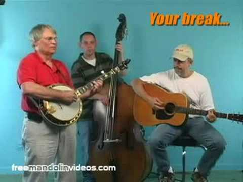 Cripple Creek Bluegrass Mandolin Jam Session Lesson